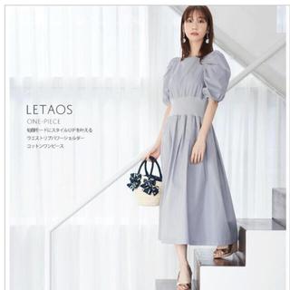 tocco - トッコクローゼット  コットン ワンピース