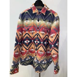 POLO RALPH LAUREN - レア品【polo Ralph lauren】ネイティブ柄 wool shirts