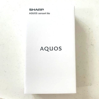 AQUOS - SHARP AQUOS sense4 lite 楽天モバイル対応 ライトカッパー
