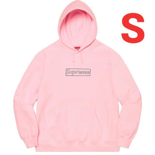 Supreme - Supreme KAWS Chalk Logo Hooded Sweatshit
