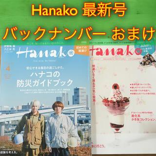 マガジンハウス(マガジンハウス)のHanako 最新号 2021年 4月号 No.1194 バックナンバーおまけ(アート/エンタメ/ホビー)