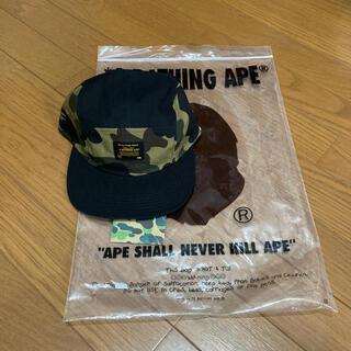A BATHING APE - A BATHINGAPE  グリーンカモ キャップ