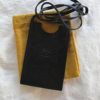 イルビゾンテ(IL BISONTE)の新品 イルビゾンテ 小物ケース カードケース(パスケース/IDカードホルダー)