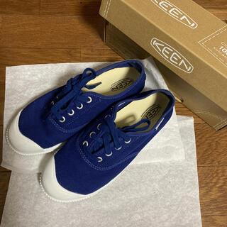 キーン(KEEN)のKEEN スニーカー 23.5 ESTAET BLUE(スニーカー)