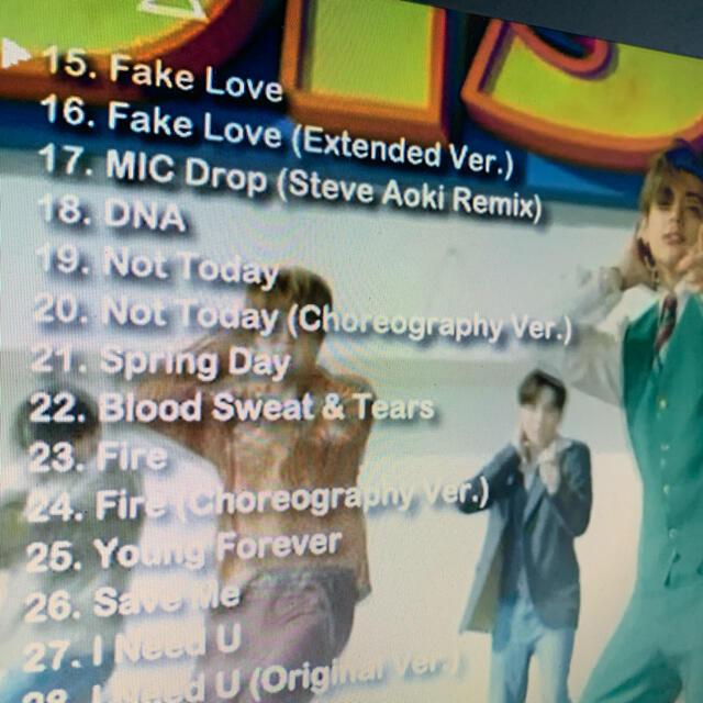 防弾少年団(BTS)(ボウダンショウネンダン)のBTS 2020 BEST PV COLLECTION  DVD エンタメ/ホビーのDVD/ブルーレイ(ミュージック)の商品写真