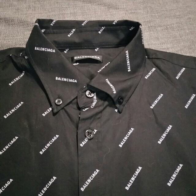 Balenciaga(バレンシアガ)のバレンシアガ ロゴ シャツ サイズ44 メンズのトップス(シャツ)の商品写真