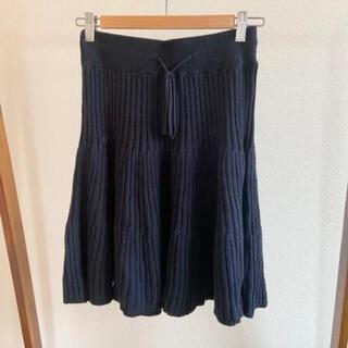 バンヤードストーム(BARNYARDSTORM)のバンヤードストーム / ネイビーニットスカート(ひざ丈スカート)
