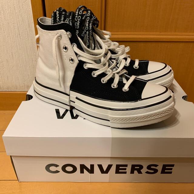 CONVERSE(コンバース)のfeng chen wang converse 黒×白   メンズの靴/シューズ(スニーカー)の商品写真