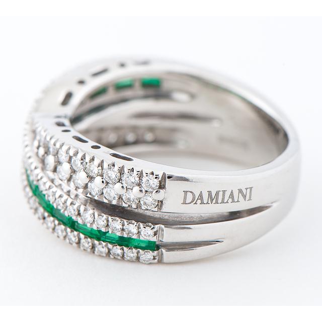 Damiani(ダミアーニ)のダミアーニ  エメラルド   リング・指輪 レディースのアクセサリー(リング(指輪))の商品写真
