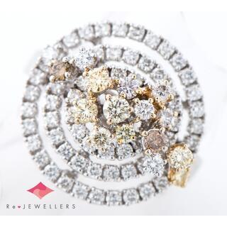 ダミアーニ(Damiani)のダイヤモンド リング・指輪 18金ホワイトゴールド 中古(リング(指輪))