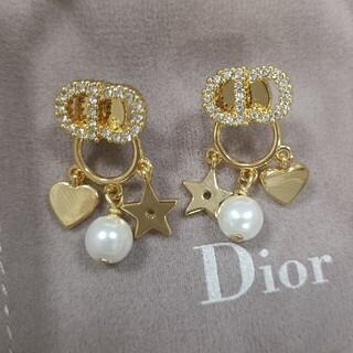 Christian Dior - クリスチャン ディオールChristian Dior ピアス ゴールド