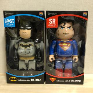 MEDICOM TOY - HAPPYくじ DC BE@RBRICK ベアブリック バットマン スーパーマン