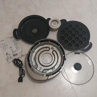 タイガー(TIGER)のTIGER  タイガー  プレート  グリル たこ焼き  焼肉(調理機器)
