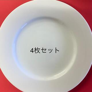Noritake - ノリタケ 25センチ 白皿 4枚セット
