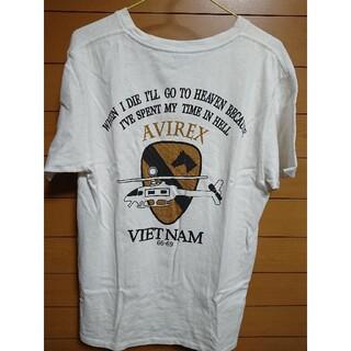 AVIREX - AVIREX 6163342 ベトナムプリント クルーネックTシャツ
