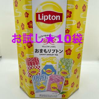 おまもリプトン ティーパック 10袋(茶)