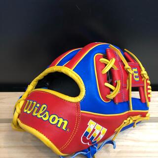 ウィルソン(wilson)の超限定品!ウィルソン  限定硬式グラブ 内野手用(グローブ)