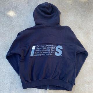 ISSEY MIYAKE - I.S. ISSEY MIYAKE Zip-up hoodie