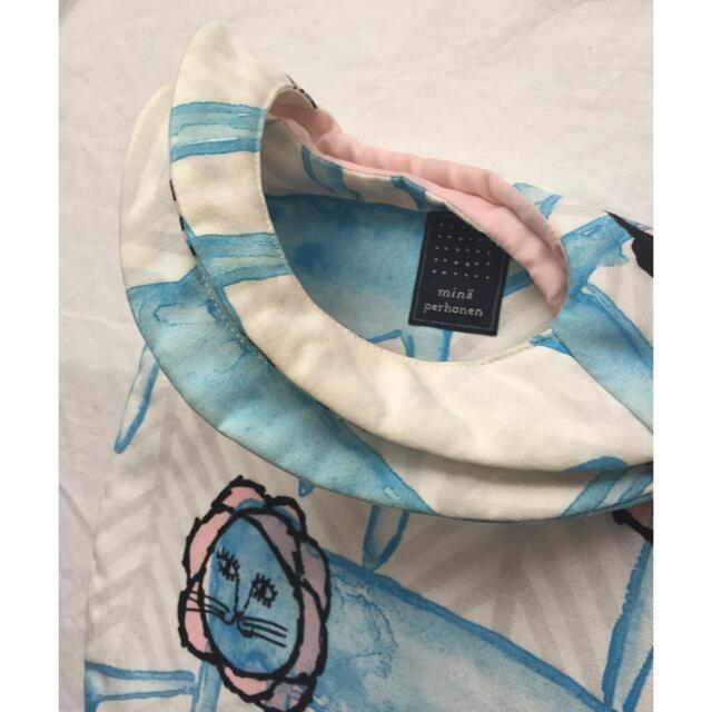 mina perhonen(ミナペルホネン)のミナペルホネン  エッグバッグ look レディースのバッグ(ハンドバッグ)の商品写真