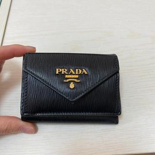 PRADA - PRADA ミニウォレット ブラック