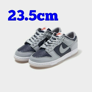 NIKE - 23.5cm NIKE WMNS DUNK LOW COLLEGE NAVY