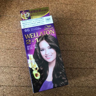 ウエラ(WELLA)のウエラトーン ツープラスワン クリームヘアカラーa 6G(白髪染め)