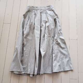 アズールバイマウジー(AZUL by moussy)のマウジー スカート S(ひざ丈スカート)