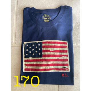 POLO RALPH LAUREN - ポロラルフローレン 半袖 フラッグ Tシャツ 星条旗 170 ボーイズXL