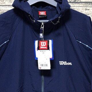 ウィルソン(wilson)のウィルソン WLW231T サイズO フードフルジップ 坊汚加工布 UPF50+(Tシャツ/カットソー(半袖/袖なし))