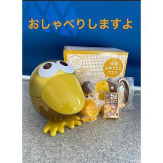 モリナガセイカ(森永製菓)のおもちゃのカンヅメ 金のキョロちゃん缶 森永チョコボール(ノベルティグッズ)
