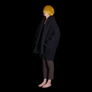 my beautiful landlet ☆ wool big cardigan(ピーコート)