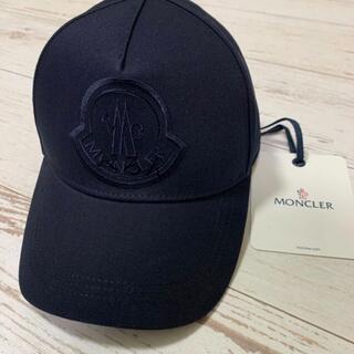 MONCLER - 【正規品】MONCLER モンクレール ロゴ刺しゅう キャップ