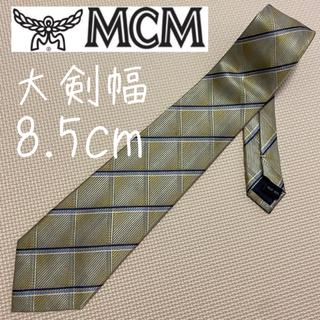 エムシーエム(MCM)のMCM ネクタイ レギュラータイ 格子柄 高級感抜群(ネクタイ)