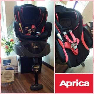 Aprica - ⒂✨超美品✨アップリカ ディアターンプラス✨ベッド型✨回転式チャイルドシート✨