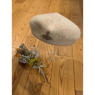 Vivienne Westwood - 新品ヴィヴィアンウェストウッドベレー帽 モカベージュ