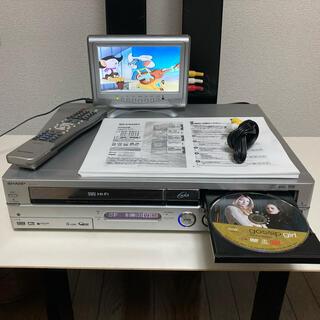 SHARP - ★返品可能★シャープ VHS HDD DVDビデオデッキ DV-TR11