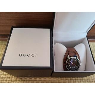 グッチ(Gucci)のレア 新品未使用 2020年新品購入 グッチ GUCCI 時計 腕時計 メンズ(腕時計(アナログ))
