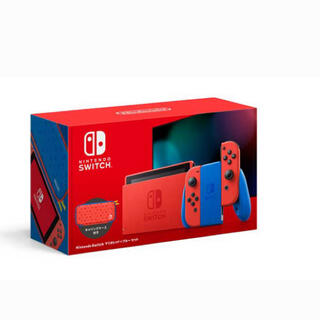 Nintendo Switch - 新品未開封 nintendo switch マリオレッド×ブルー