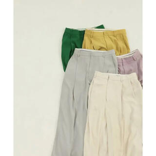 TODAYFUL - TODAYFUL Georgette Rough Trousers 36