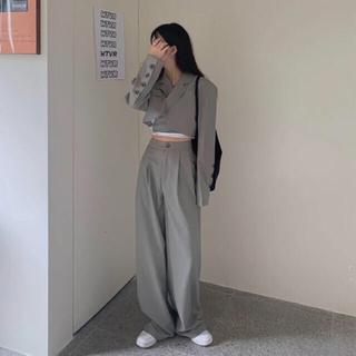 STYLENANDA - ✧ クロップドジャケット セットアップ