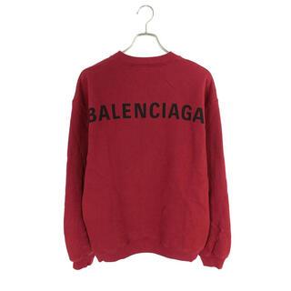 Balenciaga - 新品バレンシアガ(Balenciaga) メンズ バックロゴ スウェット
