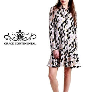 GRACE CONTINENTAL - 36 シャツワンピース グレースコンチネンタル