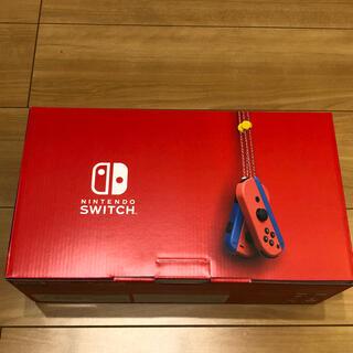 Nintendo Switch - 即発送可 2/25購入  Nintendo switch マリオレッドブルー