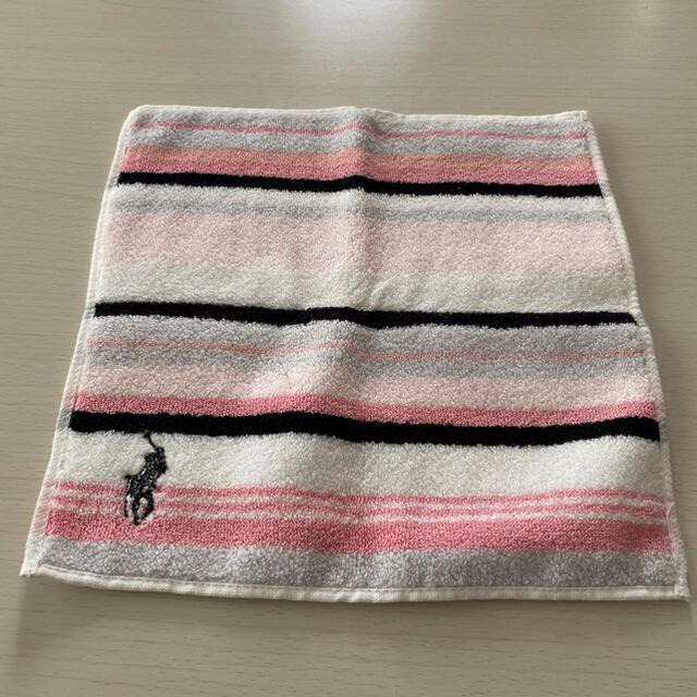POLO RALPH LAUREN(ポロラルフローレン)のPOLO RALPH LAUREN タオルハンカチ 未使用 レディースのファッション小物(ハンカチ)の商品写真