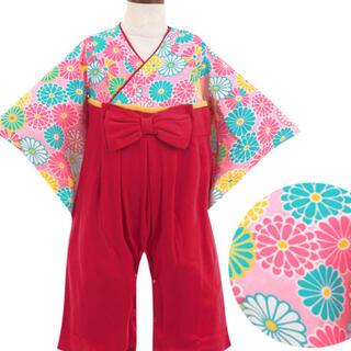 袴ロンパース 80サイズ