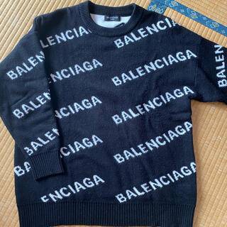 Balenciaga - 確実正規品 バレンシアガ ロゴニット