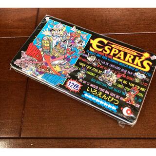 サンエックス(サンエックス)のESPARKS エスパークス 新品 未開封 いろえんぴつ 色鉛筆 昭和レトロ(その他)