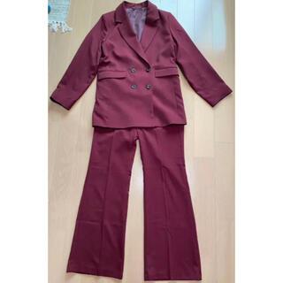 ジーユー(GU)のGU パンツスーツ セットアップ(スーツ)