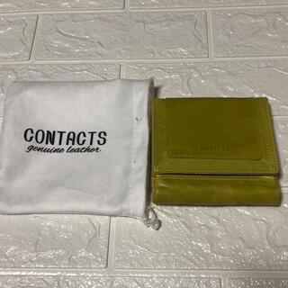 CONTACTS 3つ折り財布(財布)