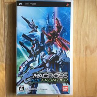 マクロス(macros)のマクロスエースフロンティア PSP(携帯用ゲームソフト)